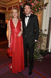 NATALIA VODIANOVA and ANTOINE ARNAULT at The Backstage Gala hosted by Diana Vishneva , Principal Dancer of the Mariinsky and American Ballet Theatre, and Natalia Vodianova in aid of The Naked Heart Foundation held at The London Coliseum, St.Martin's Lane, London on 17th April 2015.