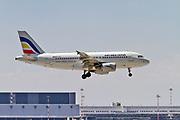 ER-AXL Air Moldova Airbus A319-112 at Malpensa (MXP / LIMC), Milan, Italy