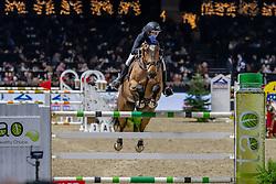 Van Hoydonck Jules, BEL, Jitsu van Middelstede<br /> Jumping Mechelen 2019<br /> © FEI/Dirk Caremans<br />  30/12/2019