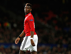 Manchester United's Paul Pogba during the UEFA Champions League match at Old Trafford, Manchester.