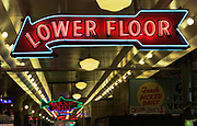 Neon sign in Seattle's Pike Place market