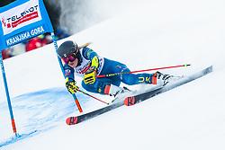Nina O Brien (USA) during Ladies' Giant Slalom at 57th Golden Fox event at Audi FIS Ski World Cup 2020/21, on January 17, 2021 in Podkoren, Kranjska Gora, Slovenia. Photo by Vid Ponikvar / Sportida