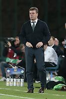 Dieter Hecking Wolfsburg, <br /> Napoli 23-04-2015 Stadio San Paolo <br /> Football Calcio UEFA Europa League Quarter-finals, second len. Napoli - Wolfsburg.<br /> Foto Cesare Purini / Insidefoto