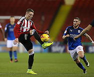 Caolan Lavery of Sheffield Utd during the English League One match at Bramall Lane Stadium, Sheffield. Picture date: December 10th, 2016. Pic Simon Bellis/Sportimage