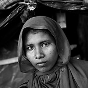 Palongkhali camp. Since the end of august 2017, the beginning of the crisis, more than 600,000 Rohingyas have fled Myanmar to seek refuge in Bangladesh. Cox's Bazar - 4th november 2017.<br /> Palongkhali camp. Depuis le début de la crise, fin août 2017, plus de 600000 Rohingyas ont fuit la Birmanie pour trouver refuge au Bangladesh. Cox's Bazar le 04 novembre 2017.