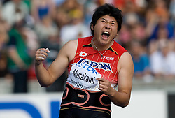 Yukifumi Murakami of Japan competes in the men's Javelin Throw Final during day nine of the 12th IAAF World Athletics Championships at the Olympic Stadium on August 23, 2009 in Berlin, Germany. (Photo by Vid Ponikvar / Sportida)