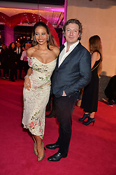 VISCOUNT & VISCOUNTESS WEYMOUTH at The Naked Heart Foundation's Fabulous Fund Fair hosted by Natalia Vodianova and Karlie Kloss at Old Billingsgate Market, 1 Old Billingsgate Walk, London on 20th February 2016.