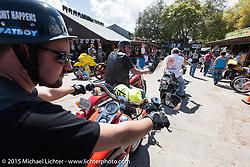 The Iron Horse Saloon during Daytona Beach Bike Week 2015. FL, USA. Tuesday March 10, 2015.  Photography ©2015 Michael Lichter.