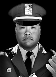 iPhone Portraits of the 2017 Presidents Cup, military, Jersey City, New Jersey
