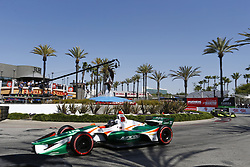 April 13, 2018 - Long Beach, California, United States of America - April 13, 2018 - Long Beach, California, USA: Kyle Kaiser (32) takes to the track to practice for the Toyota Grand Prix of Long Beach at Streets of Long Beach in Long Beach, California. (Credit Image: © Justin R. Noe Asp Inc/ASP via ZUMA Wire)