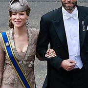 NLD/Amsterdam/20130430 - Inhuldiging Koning Willem - Alexander, prinses Margarita en partner Tjalling ten Cate