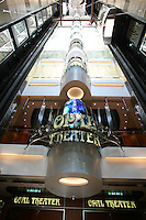 The launch of Royal Caribbean International's Oasis of the Seas, the worlds largest cruise ship..Theater entrance