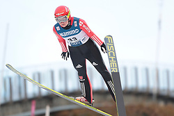 24.11.2012, Lysgards Schanze, Lillehammer, NOR, FIS Weltcup, Ski Sprung, Damen, im Bild Carina Vogt (GER) during the womens competition of FIS Ski Jumping Worldcup at the Lysgardsbakkene Ski Jumping Arena, Lillehammer, Norway on 2012/11/23. EXPA Pictures © 2012, PhotoCredit: EXPA/ Federico Modica