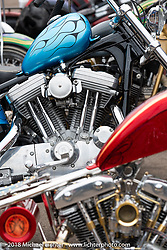Cycle Source show at the Iron Horse Saloon during the 78th annual Sturgis Motorcycle Rally. Sturgis, SD. USA. Sunday August 5, 2018. Photography ©2018 Michael Lichter.