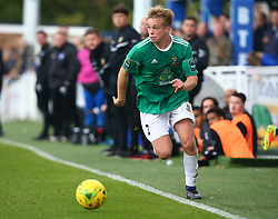 October 7, 2017 - Billericay, England, United Kingdom - Jake Eggleton of Hendon FC .during Bostik League Premier Division match between Billericay Town against Hendon FC at New Lodge Ground, Billericay on 07 Oct 2017  (Credit Image: © Kieran Galvin/NurPhoto via ZUMA Press)