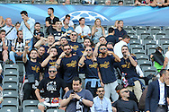 Juventus fans before the Champions League Final between Juventus FC and FC Barcelona at the Olympiastadion, Berlin, Germany on 6 June 2015. Photo by Phil Duncan.