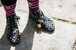 Eccentric footwear.