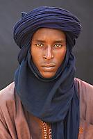 Niger. Homme Touareg. // Niger. Touareg man.