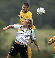 Fotball<br /> Treingskamp Friendly<br /> 19.07.08<br /> Sjövalla Stadion<br /> Ahlafors IF - Norwich City<br /> Jason Shackell<br /> Foto - Kasper Wikestad