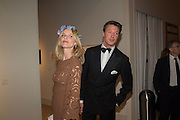 EVA HERZIGOVA; GREGORIO MARSIAJ The Neo Romantic Art Gala in aid of the NSPCC. Masterpiece. Chelsea. London.  30 June 2015