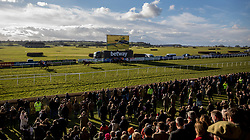 General view of the 3.20pm Read Harry Fry On Betway Blog Handicap Chase race