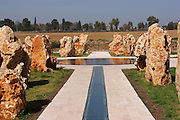 The new monument (2008)  for the 73 IDF soldiers who found their death in th 1997 Israeli helicopter disaster,  when 2 helicopters collided over She'ar Yeshuv in northern Israel..The Israeli memorial day (Yom Hazikaron) is observed on the 4th day of the month of Iyar of the Hebrew calendar, always preceding the next day's celebrations of Israel Independence Day.