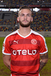 02.07.2015, Esprit Arena, Duesseldorf, GER, 2. FBL, Fortuna Duesseldorf, Fototermin, im Bild Fabian Holthaus ( Fortuna Duesseldorf / Portrait ) // during the official Team and Portrait Photoshoot of German 2nd Bundesliga Club Fortuna Duesseldorf at the Esprit Arena in Duesseldorf, Germany on 2015/07/02. EXPA Pictures © 2015, PhotoCredit: EXPA/ Eibner-Pressefoto/ Thienel<br /> <br /> *****ATTENTION - OUT of GER*****