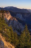 Bicaz Gorges, Cheile Bicazului-Hasmas National Park, Carpathians, Transylvania, Romania,