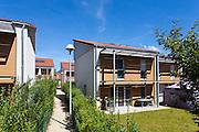 Logements individuels, sous Montauban, clos Jacquemet, Bellegarde sur Valserine. Dynacite
