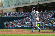 Adam Dunn #32 of the Chicago White Sox watches his home run during a game against the Minnesota Twins on September 16, 2012 at Target Field in Minneapolis, Minnesota.  The White Sox defeated the Twins 9 to 2.  Photo: Ben Krause