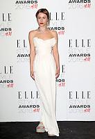 Billie JD Porter, ELLE Style Awards 2016, Millbank London UK, 23 February 2016, Photo by Richard Goldschmidt