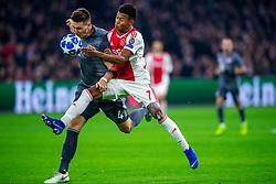 12-12-2018 NED: Champions League AFC Ajax - FC Bayern Munchen, Amsterdam<br /> Match day 6 Group E - Ajax - Bayern Munchen 3-3 / Niklas Sule #4 of Bayern Munich, David Neres #7 of Ajax