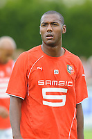 FOOTBALL - FRIENDLY GAMES 2010/2011 - STADE RENNAIS v FC LORIENT - 24/07/2010 - PHOTO PASCAL ALLEE / DPPI - KEVIN THEOPHILE CATHERINE  ( RENNES)