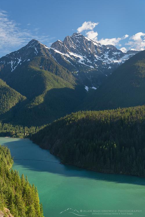 Colonial Peak, Diablo Lake, Ross Lake National Recreation Area, North Cascades Washington