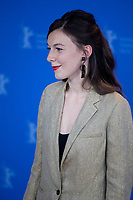 Actress Louise Chevillotte at the photocall for the film The Salt of Tears (Le Sel des Larmes) at the 70th Berlinale International Film Festival, on Saturday 22nd February 2020, Hotel Grand Hyatt, Berlin, Germany. Photo credit: Doreen Kennedy
