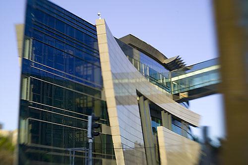 South America, Uruguay, Canelones, Montevideo, telecommunications building