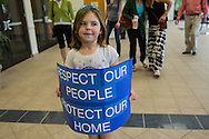 May 12, Isabella Tarasova entering the Castine Center in Mandeville for an educational meeting about fracking hosted by St. Tammany Parish Councilman Jake Groby.