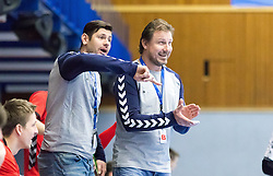 07.01.2017, BSFZ Suedstadt, Maria Enzersdorf, AUT, IHF Junior WM 2017 Qualifikation, Österreich vs Tschechische Republik, im Bild Trainer Alois Mraz (CZE), Trainer Michal Tonar (CZE) // during the IHF Men's Junior World Championships qualifying match between Austria and Czech Republic at the BSFZ Suedstadt, Maria Enzersdorf, Austria on 2017/01/07, EXPA Pictures © 2017, PhotoCredit: EXPA/ Sebastian Pucher