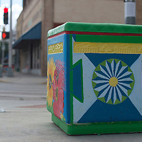 """""""Transitions,"""" painted by Cassandra Bloedel sits at the corner of Coal Street and First Street in Gallup."""