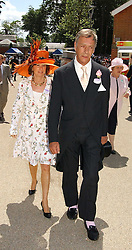 HENRY CECIL and     at the 3rd day - Ladies Day of Roayl Ascot 2006 on 22nd June 2006.<br />