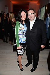 JONATHAN SHALIT and KATRINA SHALIT at a party to launch the Autumn/Winter 2013 Candy Magazine held at The Saatchi Gallery, Duke of York's HQ, King's Road, London on 15th October 2013.
