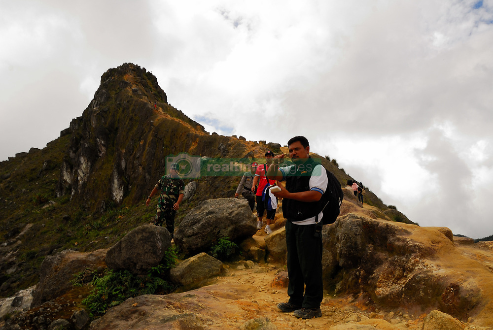 June 23, 2017 - North Sumatera, Indonesia - Wolter Klaus, 48 years old a tourist from Germany,  was reported missing while climbing Mount Sibayak, in Karo regency on Thursday afternoon. (Credit Image: © Sabirin Manurung/Pacific Press via ZUMA Wire)