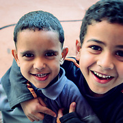 Feisty little boys in Marrakech, Marrakech, Morocco (November 2006)