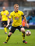 Ben Watson of Watford during the FA Cup match at The Den, London<br /> Picture by Liam McAvoy/Focus Images Ltd 07413 543156<br /> 29/01/2017