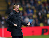 Everton's Ronald Koeman looks on during the Premier League match at Vicarage Road Stadium, London. Picture date December 10th, 2016 Pic David Klein/Sportimage