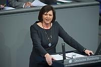 22 FEB 2013, BERLIN/GERMANY:<br /> Ilse Aigner, CSU, Verbraucherschutzministerin, haelt eine Rede, Bundestagsdebatte zum Verbraucherschutz, Plenum, Deutscher Bundestag<br /> IMAGE: 20130222-01-003