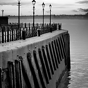 Mersey river by dusk ii, Liverpool, England (November 2004)