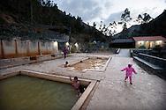 The hot springs of Lares, along the Qapaq-Òan