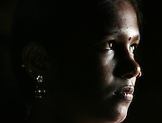 Devadasi women and their families have been severly impacted by HIV/AIDS.  This young Devadasi girl spent less than a year working in Mumbai's redlight district before being rescued by a non-governmental organization called The Rescue Foundation.  During her brief time in Mumbai, she contracted HIV/AIDS.