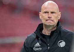Cheftræner Ståle Solbakken (FC København) under kampen i 3F Superligaen mellem FC København og AaB den 17. juni 2020 i Telia Parken, København (Foto: Claus Birch).